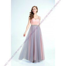 "Charming evening gown A-Line made of tulle in the ""3 Tone Shade"" R9136"