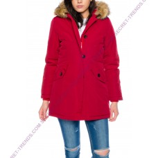 Jacket with fur hood M131-2