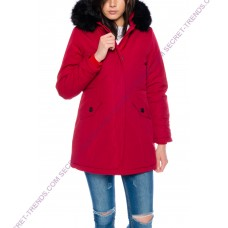 Jacket with fur hood M131-5
