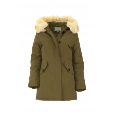 Jacket with fur hood M131-1