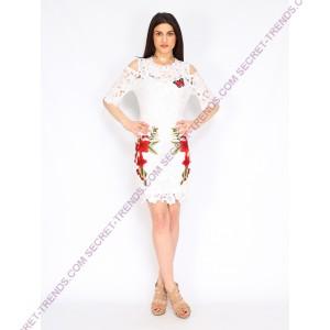 101 Idees Kleid *Flowers N' Butterfly