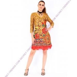 Longsleeve Lace Dress °A1131