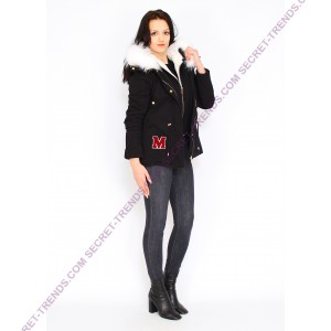Jacket With White Fur