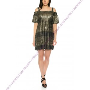 Beautiful glitter offshoulder top / dress R1515