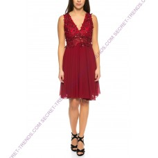 Beautiful cocktail dress with lace R9189