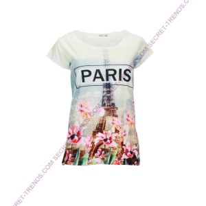 T-Shirt °Paris in Flower