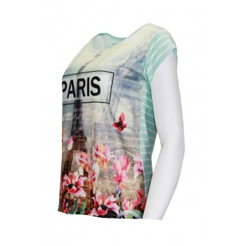 T-Shirt °Paris in FlowerView all T-Shirts