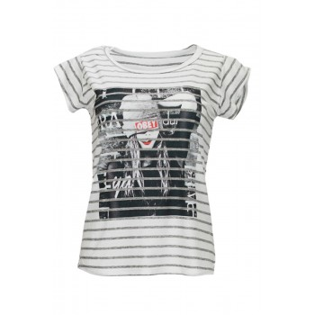 T-Shirt with strips °SWAGView all T-Shirts