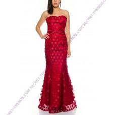 Elegant mermaid dress with dots by Juju & Christine R1545