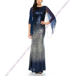 Figurbetontes evening dress  R8144